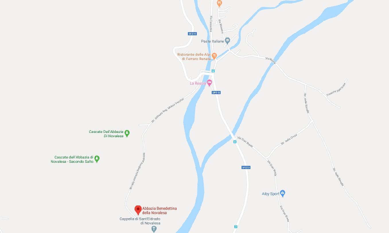 Mappa Torino - Val Cenischia